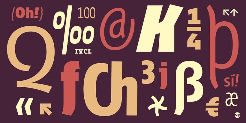 Tipografía Fontana 9