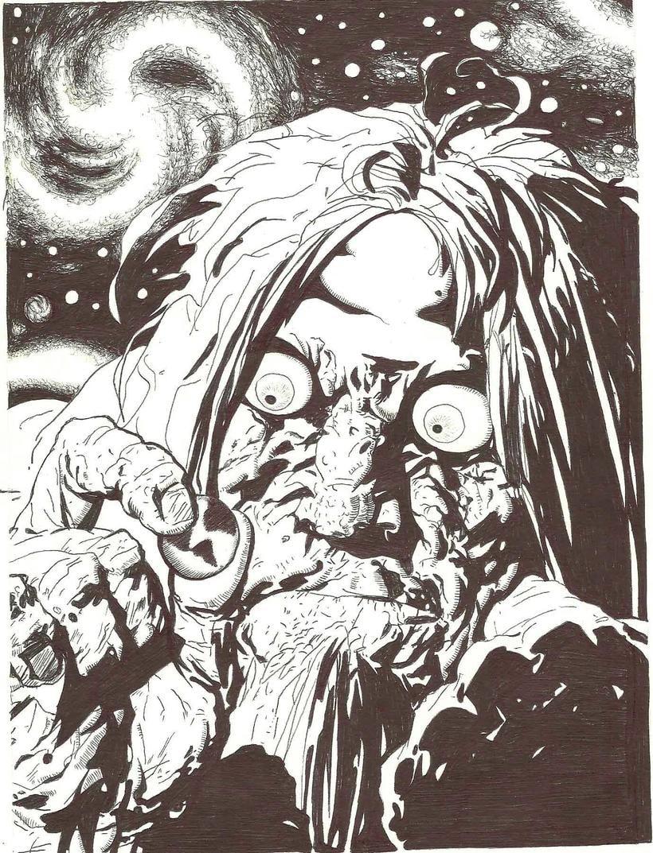 """Mis ilustraciones del comic argentino """"el cazador de aventuras"""". 2"""