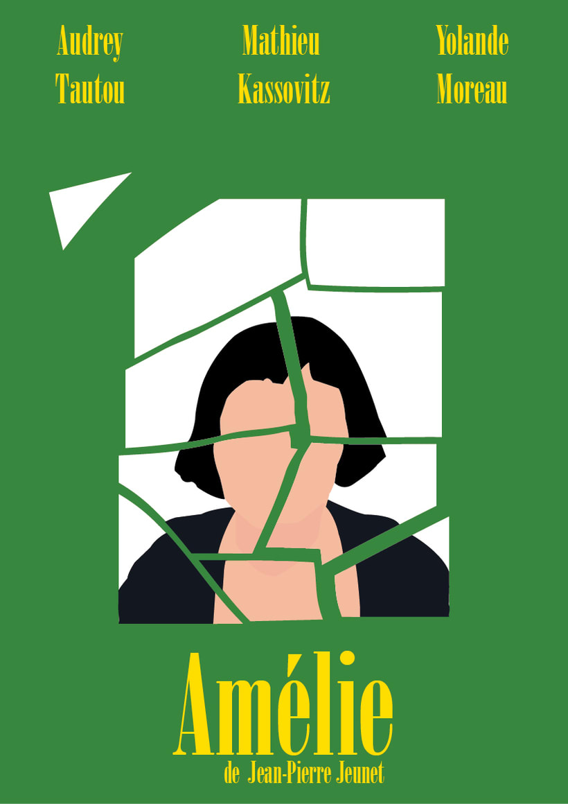 Cartel de cine alternativo (Amélie) -1