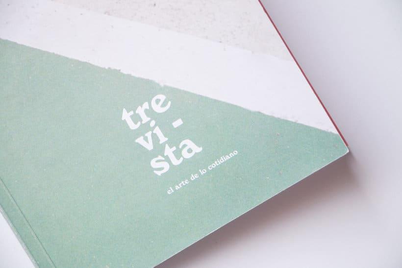 Trevista Magazine - Logo restyling  2