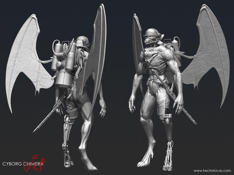 Cyborg Chimera 0