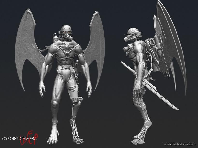 Cyborg Chimera 1