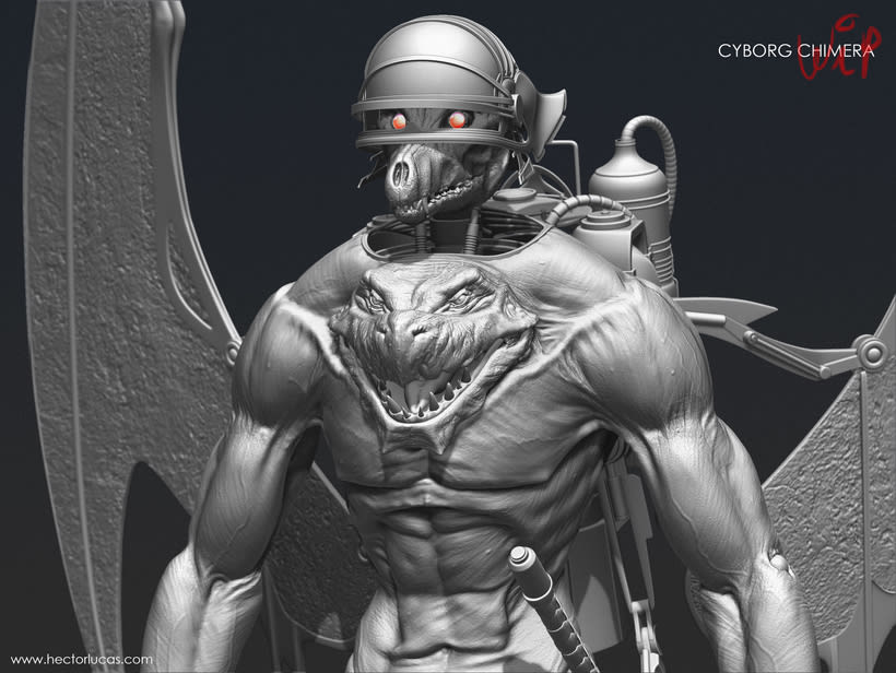 Cyborg Chimera 2