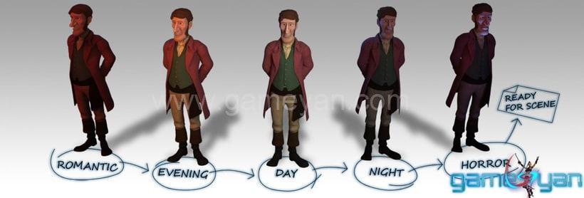 Charakter-Modellierung Sculpting Texturing 5