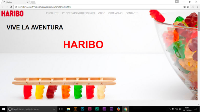 Prototipo pagina web HARIBO -1