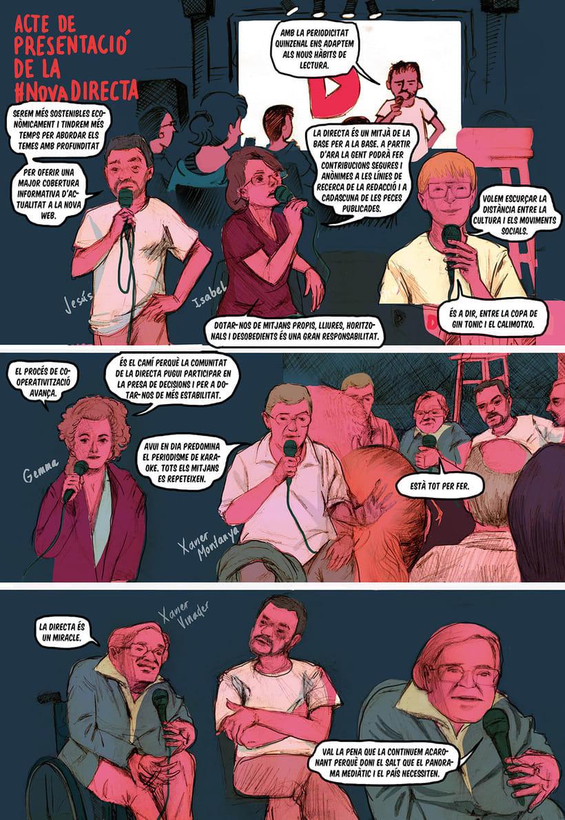 Crónica ilustrada de #NovaDirecta -1