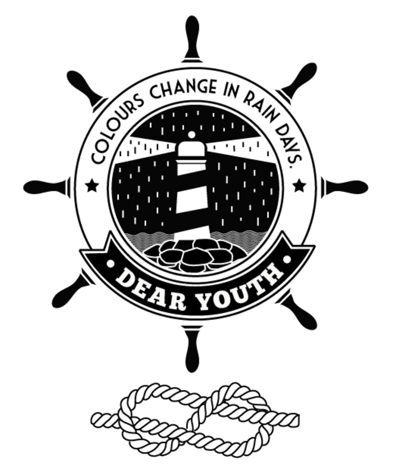 T-Shirt illustration for Canadian band Dear Youth 0
