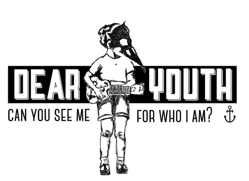 T-Shirt illustration for Canadian band Dear Youth 1