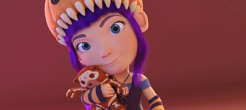 Clarita y Bonnie - Blender 3D 0