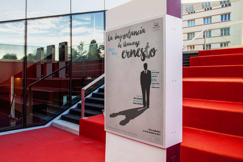 Poster Oscar Wilde / Teatro Español 2