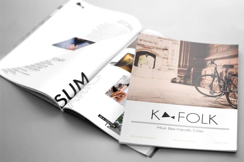 Magazine K-FOLK -1