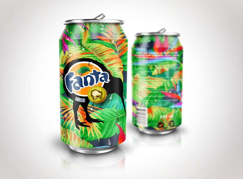 Packaging Fanta 2