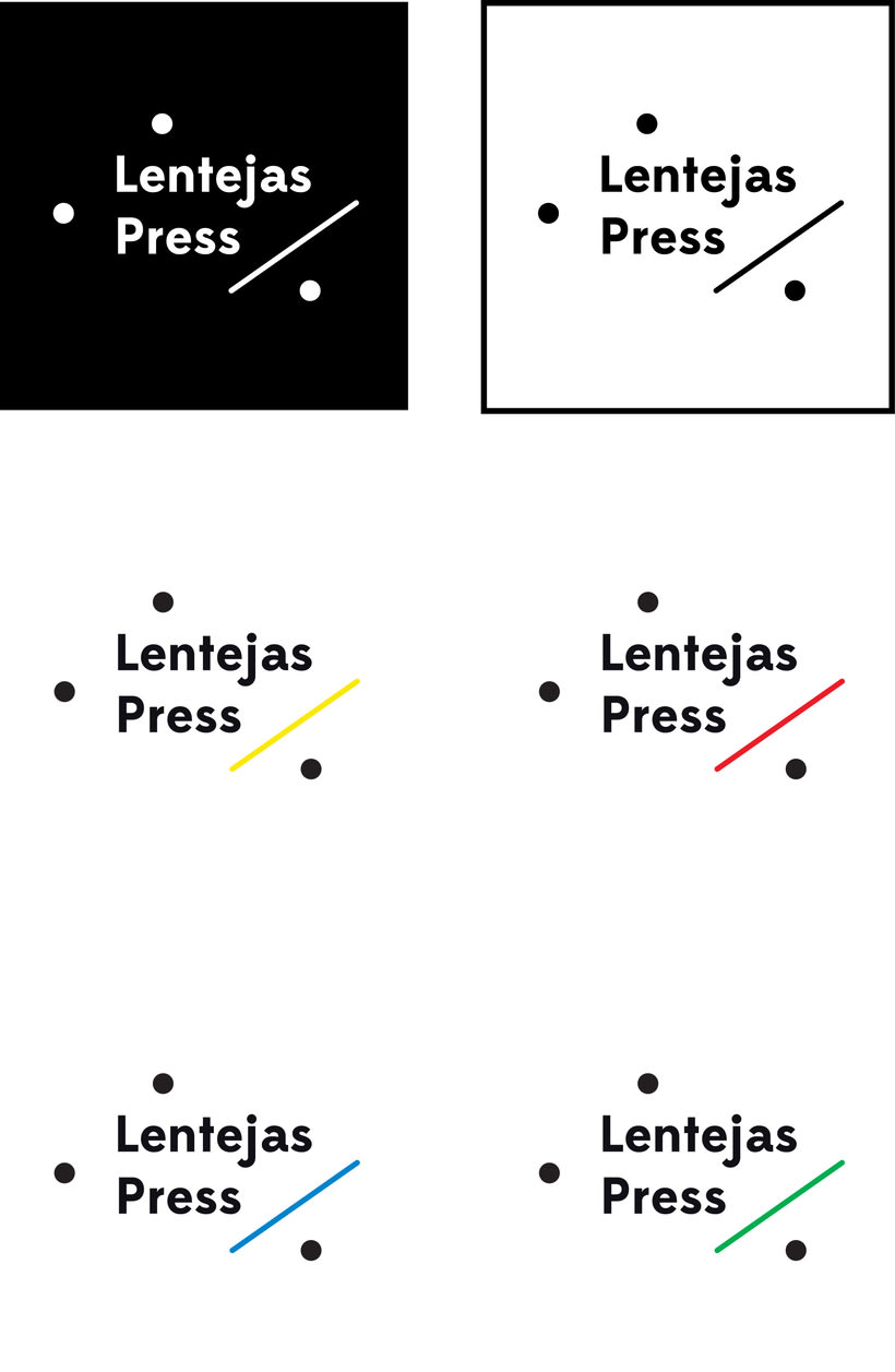 Lentejas Press - Logo restyling 1