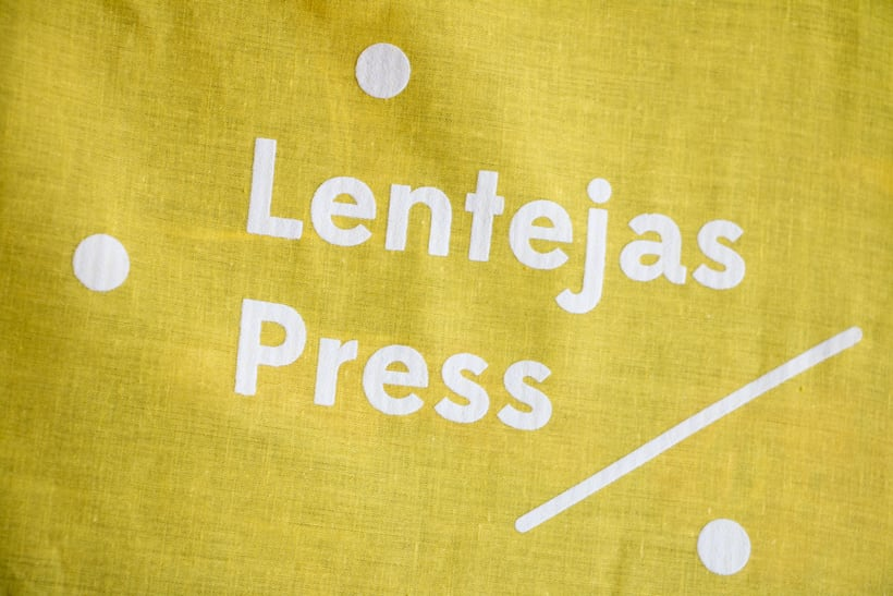 Lentejas Press - Logo restyling 3