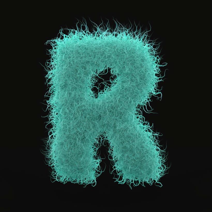 3D R Lettering 1