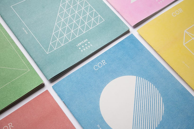 COR - Riso printed fanzine, cover and logo design 0