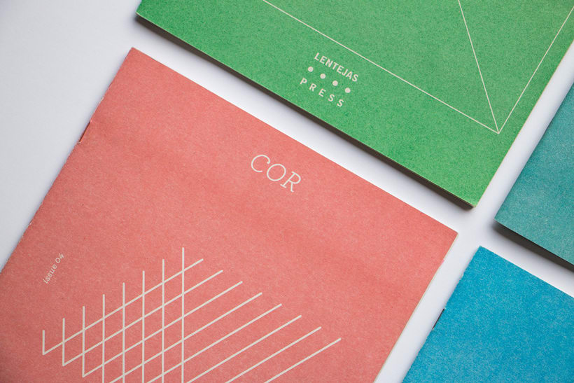 COR - Riso printed fanzine, cover and logo design 1