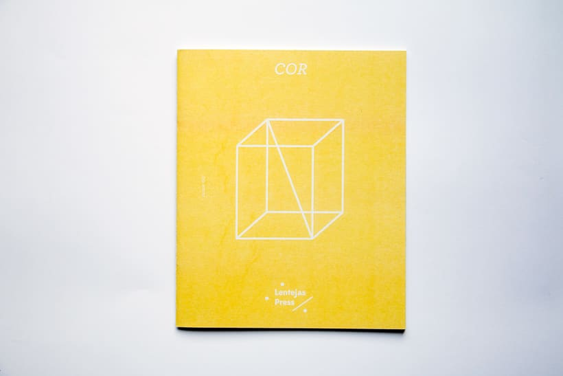 COR - Riso printed fanzine, cover and logo design 2