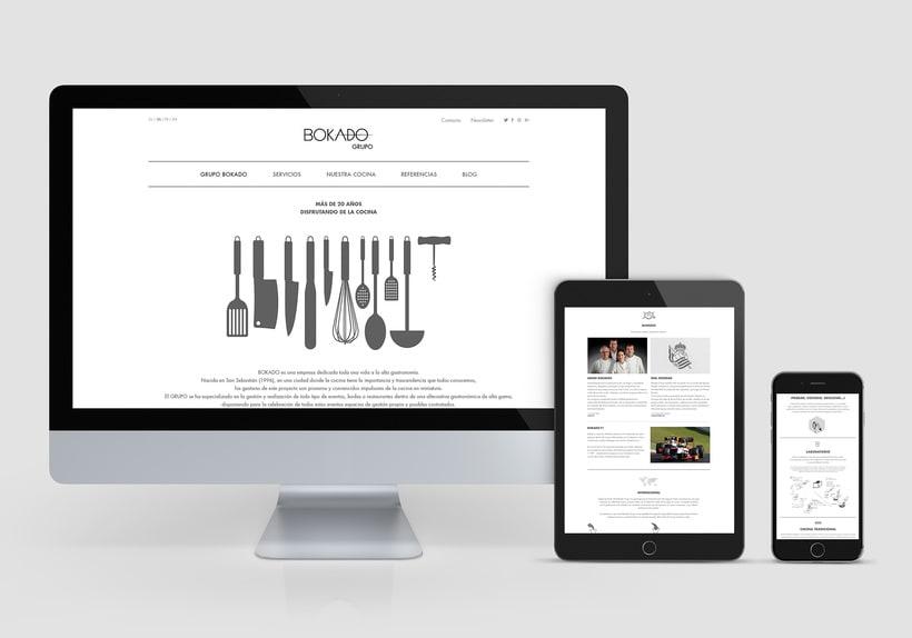 Grupo Bokado, sitio web -1
