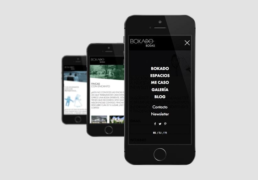 Bokado Bodas, sitio web 0
