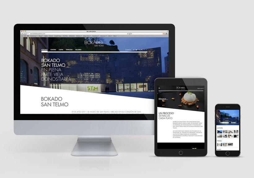 Bokado San Telmo, sitio web -1