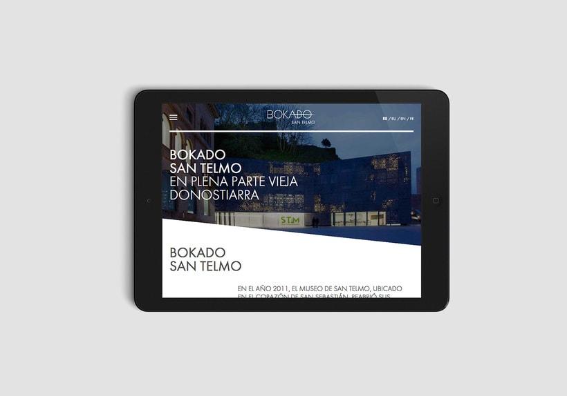 Bokado San Telmo, sitio web 0