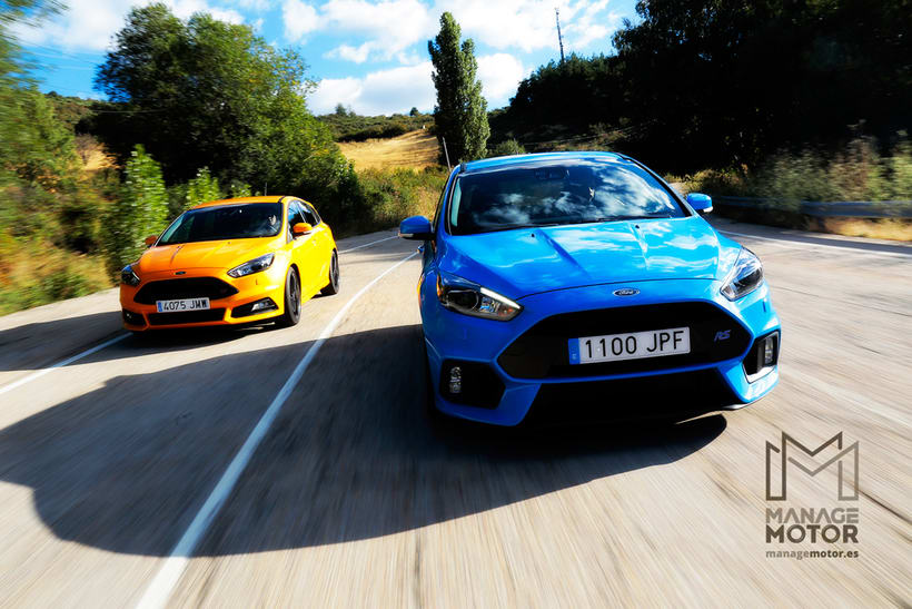 Videocomparativa Ford Focus RS Vs. Focus ST 0