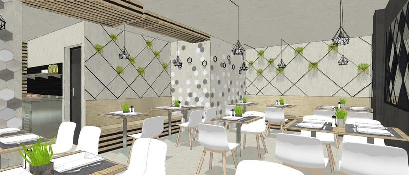 Prácticas de Máster. Diseño de restaurante. 0
