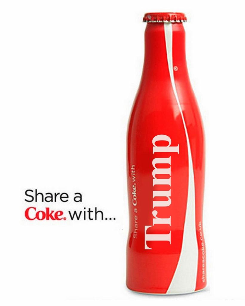 Coca Cola Trump 1