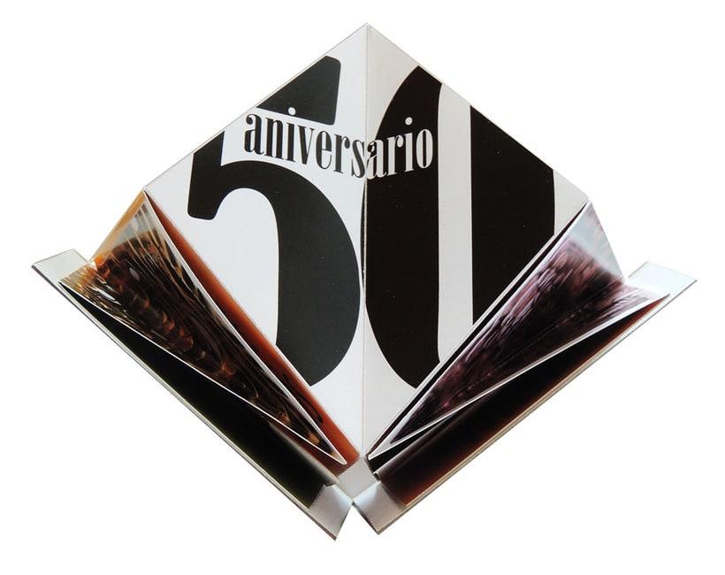 Propuesta de folleto para 50 aniversario del Museo Nacional de Antropología e Historia de México -1