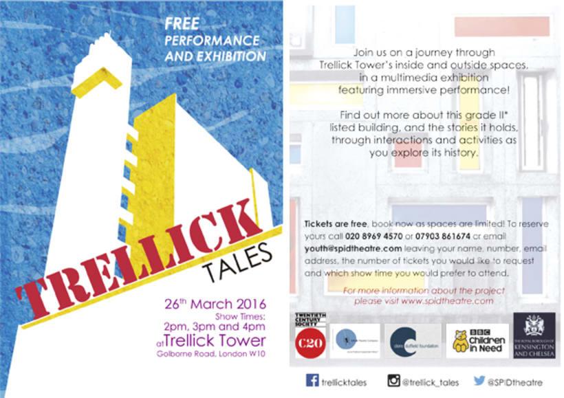 Trellick Tales for S.P.I.D Theatre Company 1