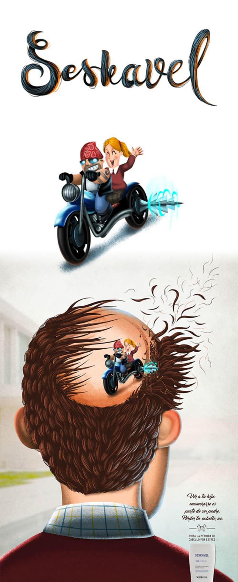 Seskavel - Pérdida de cabello 0