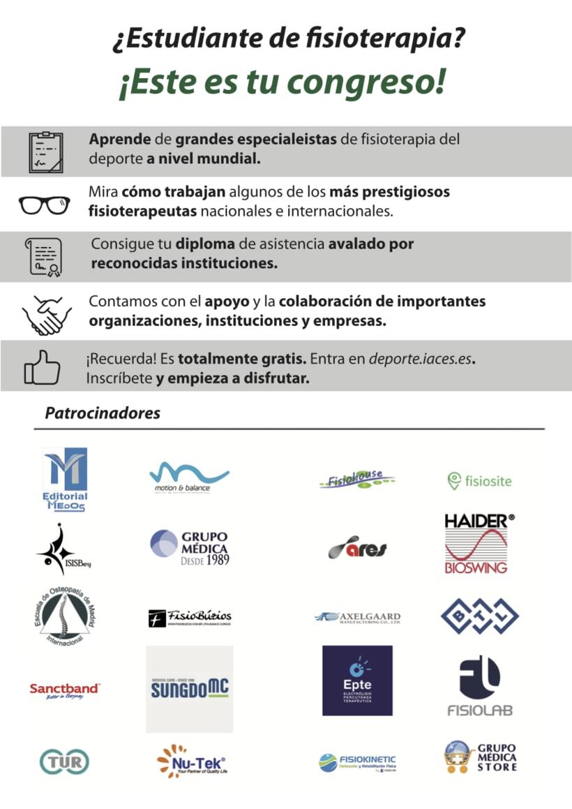 Folleto CIFDE-  I Congreso Internacional online de Fisioterapia Deportiva y Juegos Olímpicos 1