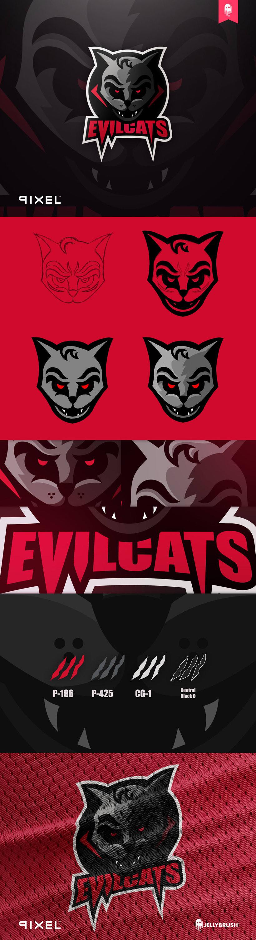 Logo Evilcats -1