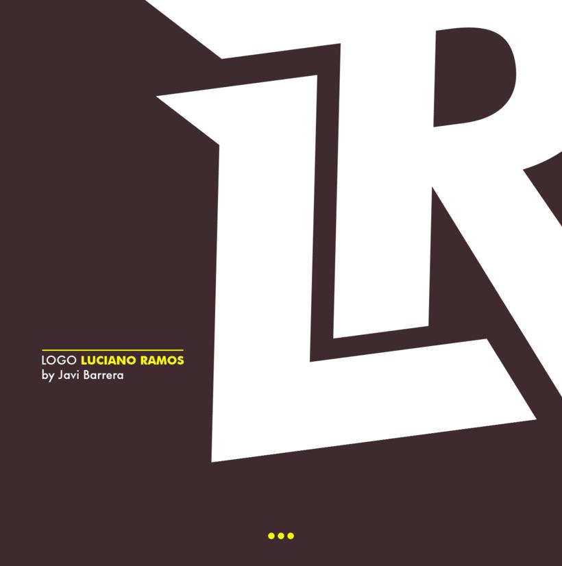 Logo y social media Luciano Ramos 0