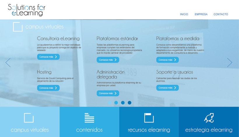 Diseño de página web corporativa 0