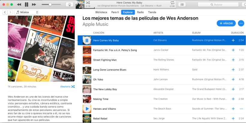 Apple Music - Contenidos musicales 2