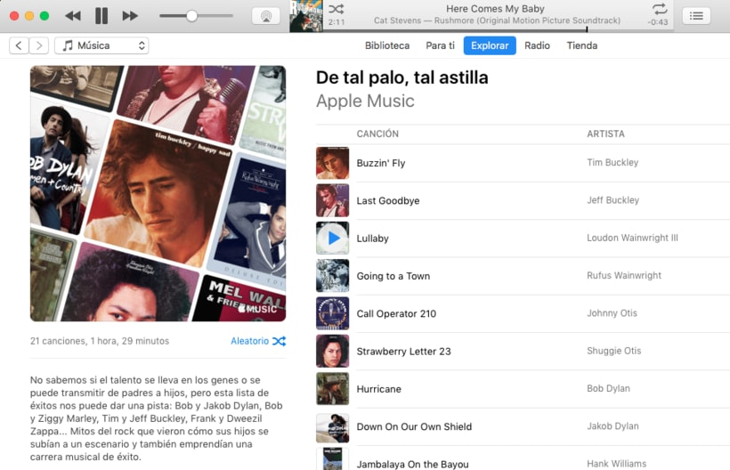 Apple Music - Contenidos musicales 0