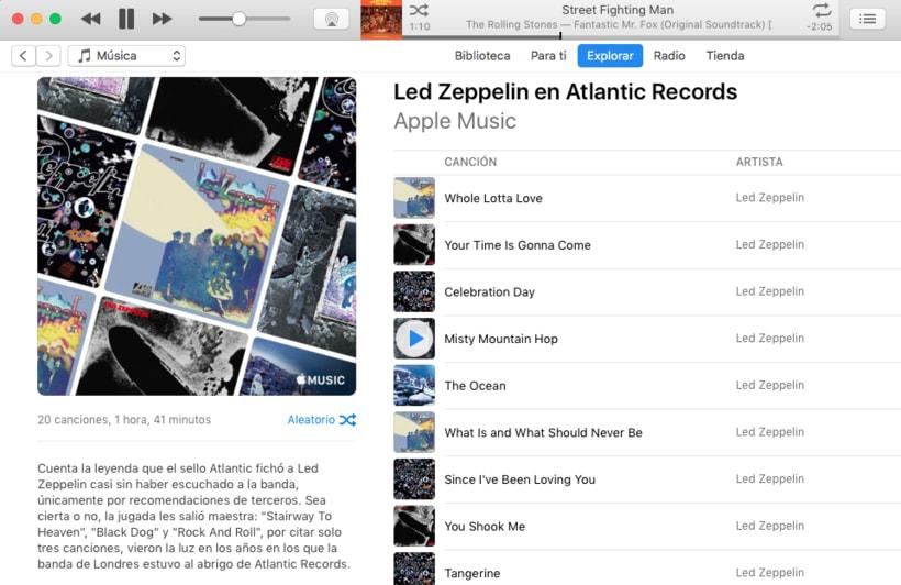 Apple Music - Contenidos musicales 3