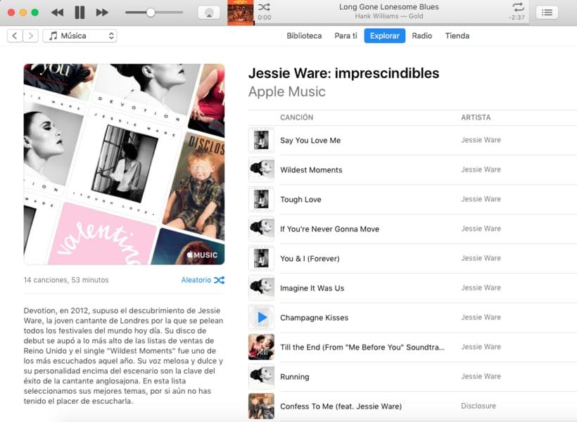 Apple Music - Contenidos musicales 4