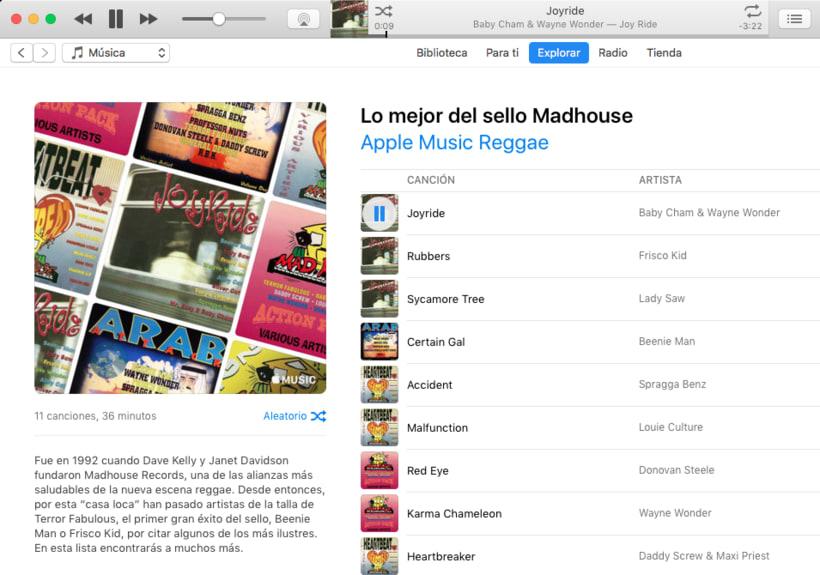 Apple Music - Contenidos musicales 5