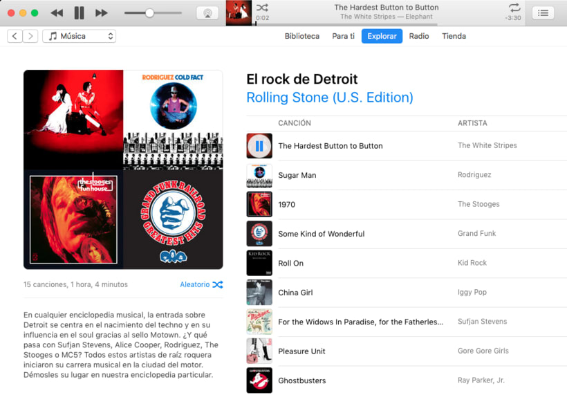 Apple Music - Contenidos musicales 6