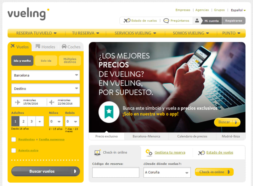 Vueling - Copywriting 0