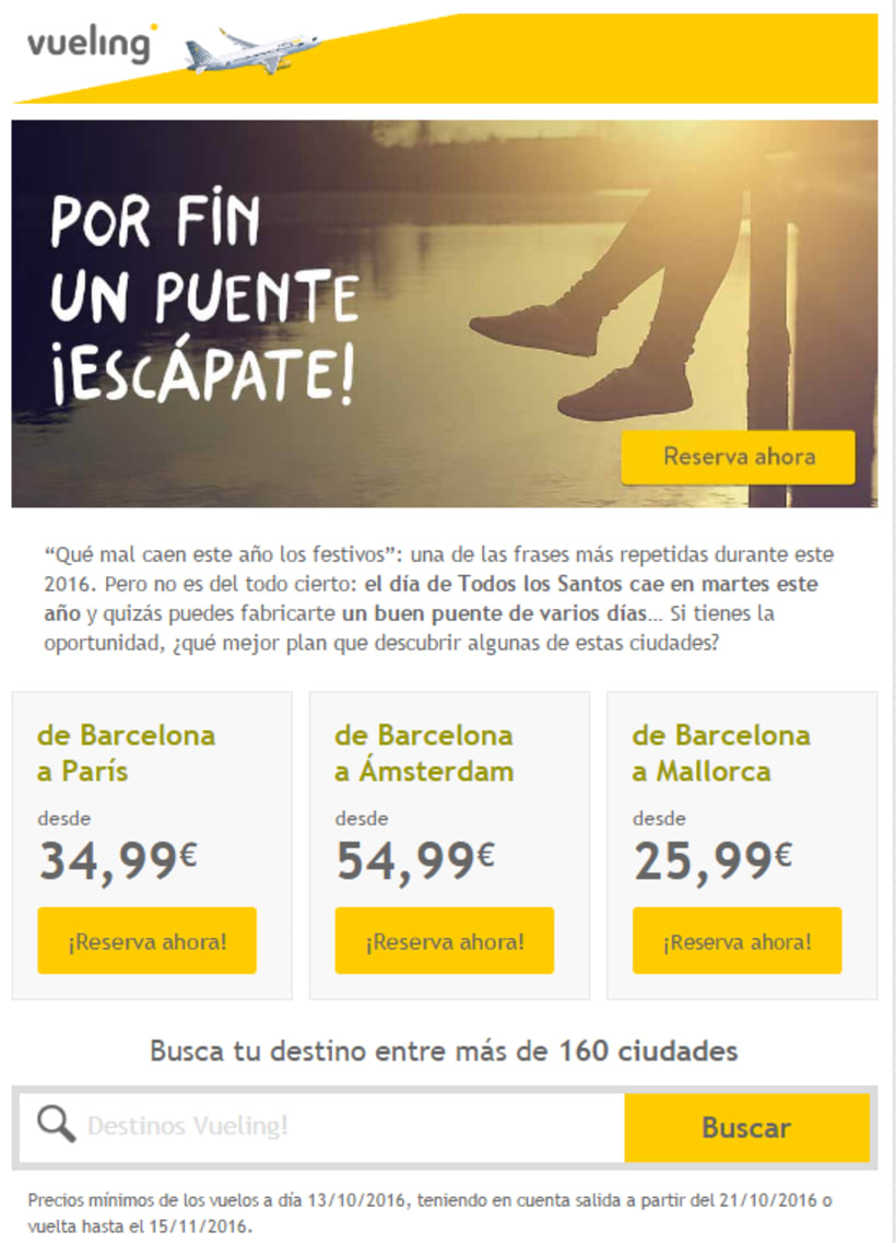 Vueling - Copywriting 4