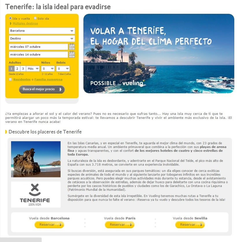Vueling - Copywriting 5