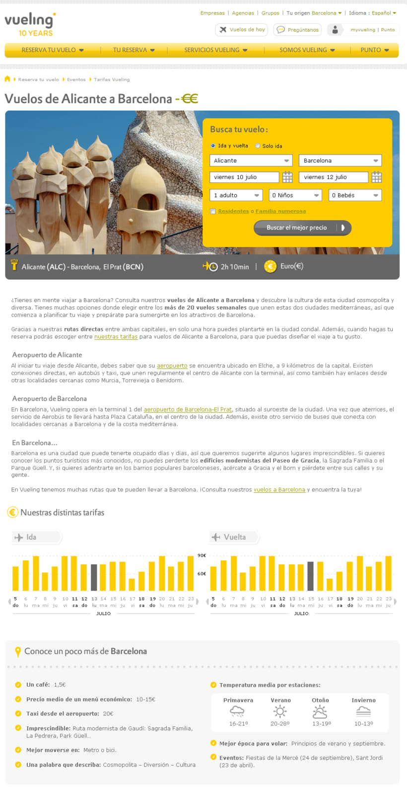 Vueling - Copywriting 6