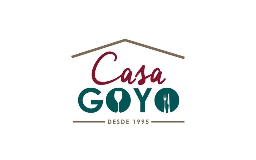 Branding - Casa Goyo 1