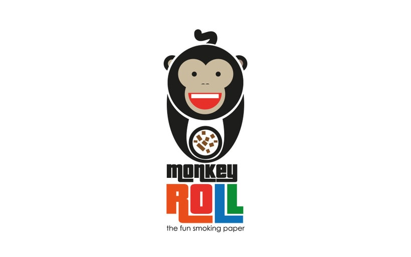 Logotipo + Packaging Monkey Roll 1
