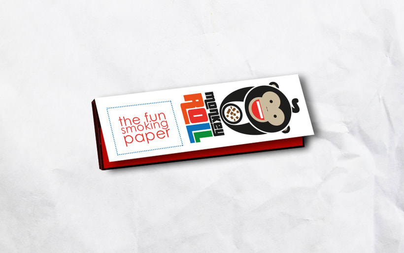 Logotipo + Packaging Monkey Roll 2