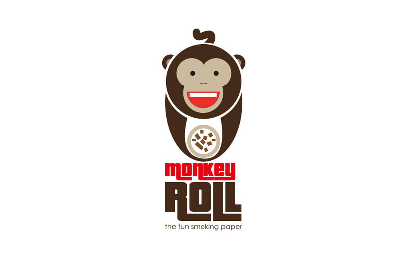 Logotipo + Packaging Monkey Roll 4